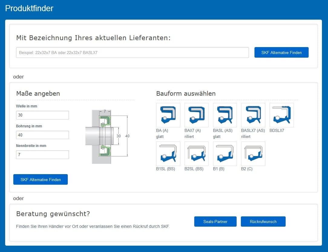 Produktfinder-RWDR-SKF-Economos-Dtld